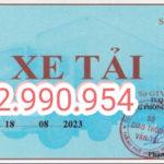 Mẫu đơn xin cấp phù hiệu xe tải thành phố Hồ Chí Minh