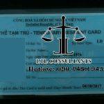 Thu hồi thẻ tạm trú của người nước ngoài