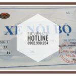 Thủ tục xin phù hiệu xe nội bộ 2017 Hồ Chí Minh