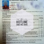 Hỏi về mẫu giấy khám sức khỏe cho người lái xe